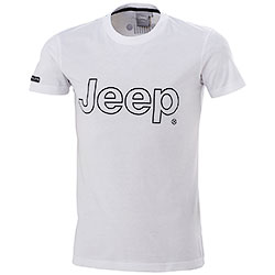 T-Shirt uomo Jeep Authentic Premium White