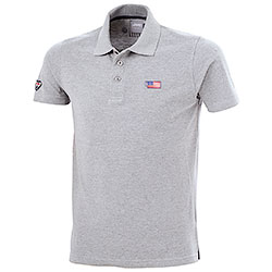 Polo Jeep Flag Grey Mélange