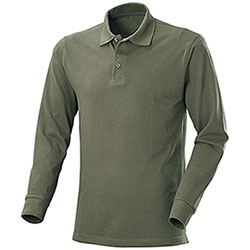 Polo manica Lunga uomo  New Zeland Army Green