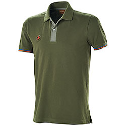 Polo piquet Star U.S. Army Green