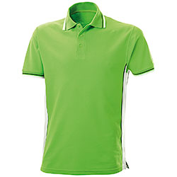 Polo Piquet Light Green-White