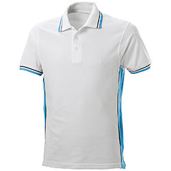 Polo Piquet White-Sky