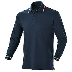 Polo piquet Winner Navy M/L