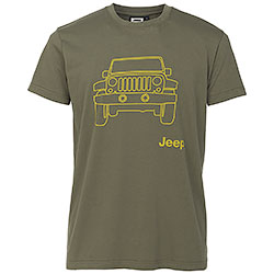 T-Shirt uomo Jeep ® Vehicle Dusky Green original