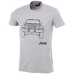 T-Shirt uomo Jeep Vehicle Grey Mélange