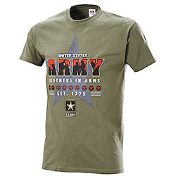 T-Shirt Army Brothers in Arms Green