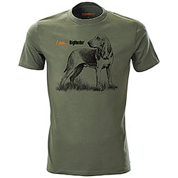 T-Shirt Segugio I am...BigHunter Green
