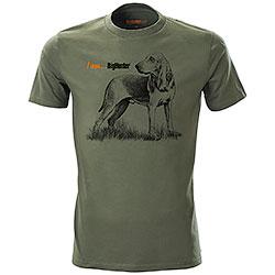 T-Shirt Segugio I am...BigHunter Green