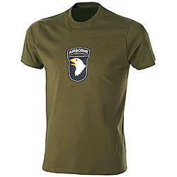 T-Shirt uomo Airborne Green
