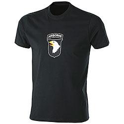 T-Shirt uomo Airborne Black