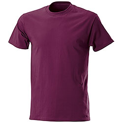 T-Shirt Fruit of the Loom Bordeaux