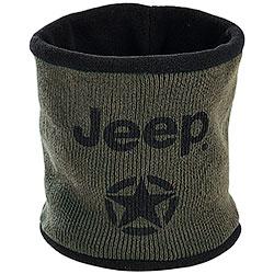Paracollo Jeep® Neckwarmer Dark Green/Black