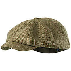 Cappello Seeland Ragley 8 Spicchi Moss Check