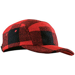 Cappello  Filson 5 Panel Red Black