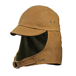 Berretto Filson Tin Cloth Wildfowl Tan