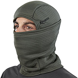 Balaclava Kalibro Fleece Microsquares Dark Green