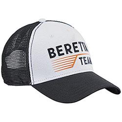 Berretto con visiera Beretta Team Black and White