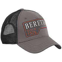 Berretto con visiera Beretta Victory Corporate Grey Black