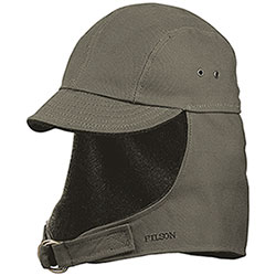 Berretto Filson Tin Cloth Wildfowl Otter Green