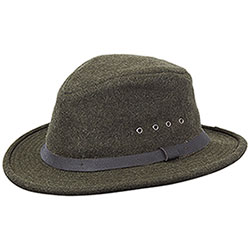 Cappello Filson Wool Packer Forest Green