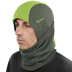 Balaclava Kalibro Fleece Microsquares Migra Hunter Green HV