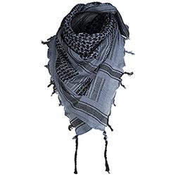 Sciarpa Foulard Shemagh Blu-Black