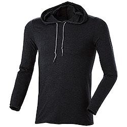 T-Shirt Con Cappuccio Black M/L
