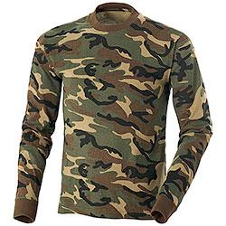 T-Shirt caccia Manica Lunga Woodland