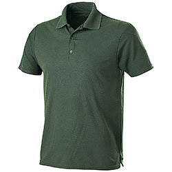 Polo Performance Piquet Forest Green
