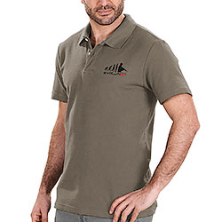 Polo piquet Evolution Military Green