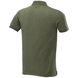 Polo manica corta NA43 Fashion Two Pockets Green