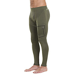 Calzamaglia Beretta Body Mapping Xwarm Green