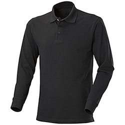 Polo Manica Lunga  New Zeland Black