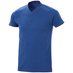 T-Shirt uomo Serrat Royal Blu Denim