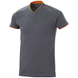 T-Shirt uomo Serrat Grey Orange