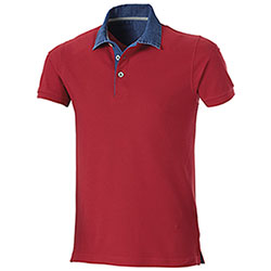 Polo Grant Red Denim