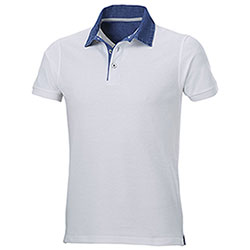 Polo Grant White Denim