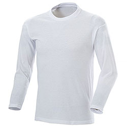 T-Shirt Manica Lunga White