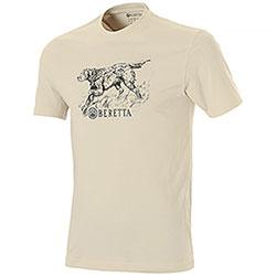 T-Shirt Beretta Engraving Setter Sand Sheel