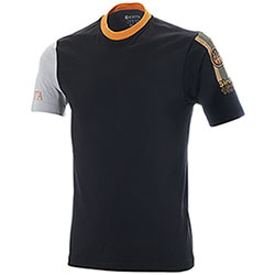 T-Shirt Beretta Victory Corporate Black Orange M/C