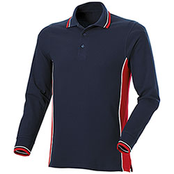 Polo piquet  Melt Navy-Red M/L