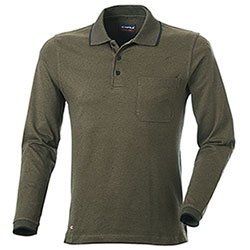 Polo uomo Cofra Green Black
