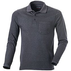 Polo uomo Cofra  Grey Black