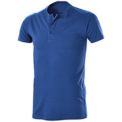 T-Shirt Serafino Royal