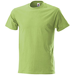T-Shirt uomo Fruit of the Loom Lime