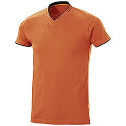 T-Shirt uomo Serrat Orange Black