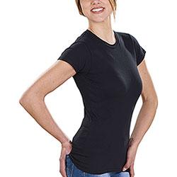 T-Shirt Donna Soft Style Fit Black