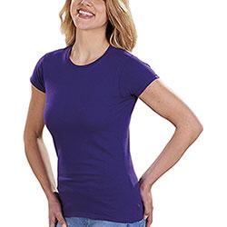 T-Shirt Donna Soft Style Fit Purple