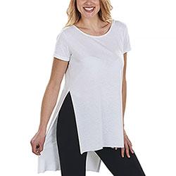 T-Shirt Donna Back Longer White