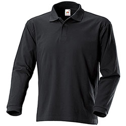 Polo Fruit of the Loom Black M/L
